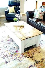 farm coffee table farmhouse white how to make a style plans farm coffee table farmhouse