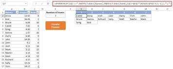 Random Group Generator Template Free Download