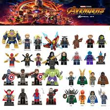 Newest <b>legoing Marvel Super Heroes</b> Thanos Spider man Iron Man ...