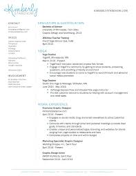 It Teacher Resume How To Create The Perfect Yoga Teacher Resume The Yoga Nomads