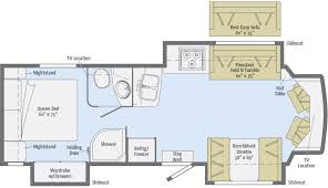 >aspect floorplans winnebago rvs