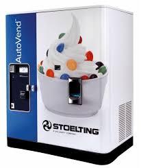 Frozen Yogurt Vending Machine Mesmerizing Stoelting Introduces Frozen SoftServe Vending Machine