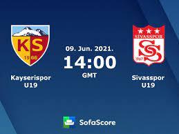 Kayserispor U19 vs Sivasspor U19 live score, H2H and lineups