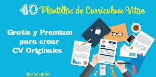40 Mejores Plantillas Curriculum Vitae Para Crear Cv En 2016