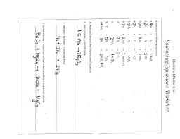 free balancing equations practice nuclear worksheet answers