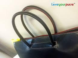 handbag handle repair after