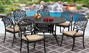 outdoor patio furniture in orange
