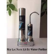 MÁY LỌC NƯỚC LÕI SỨ Water Purifier Dạng Đứng Không Dùng Điện, Không Nước  Thải