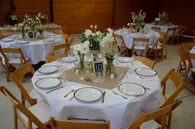 outstanding white round table covers photos