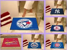 details about mlb licensed all star area rug floor mat carpet man cave choose your team
