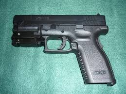 Tactical Light For Xd 40 Subcompact Springfield Xd 40 Caliber With Laser Hand Guns Best