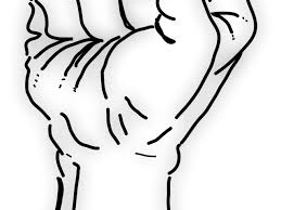 Fist Transparent Background Clip Cookdiary Net Drawn Fist Transparent Background 19