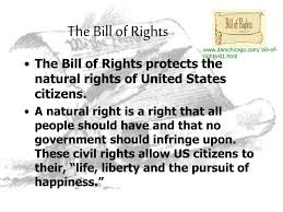 bill of rights ppt ppt the bill of rights powerpoint presentation id 1485903