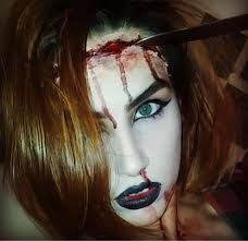 easy scary makeup