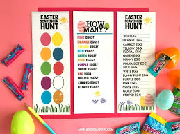 Easter Egg Hunt Ideas Free Printables A Girl And A Glue Gun