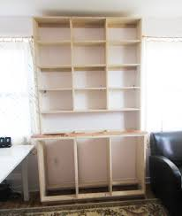 Built In Bookcase How To Build A Built In Bookshelf