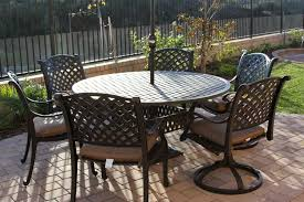 marvellous design 60 inch round outdoor dining table 36