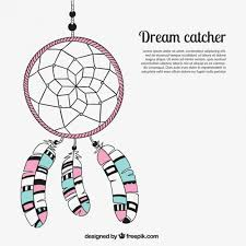 Dream Catcher Cartoon Dream catcher cartoon Vector Free Download 2