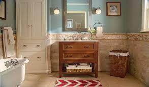 bathroom cabinet remodel. Home Depot Bathroom Remodel With Freestanding Bathtub And Single Sink Vanity Under Small Framed Cabinet