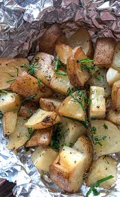 traeger smoked potatoes in foil