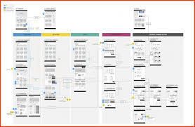 site map template excel