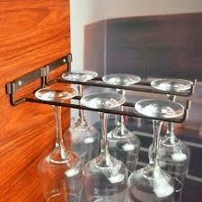 wine glass rack stemware cup holder bar