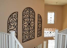 image of simple wrought iron wall decorations