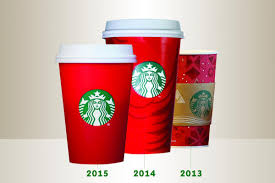 starbucks christmas cups 2014. Perfect Cups Starbucks Stirs Up A Little Controversy With 2015 Red Cups  CMO Strategy   Ad Age Throughout Christmas 2014 C