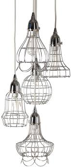 lazy susan 225039 wire modern silver multi hanging light lzs in pendant fixture designs 11