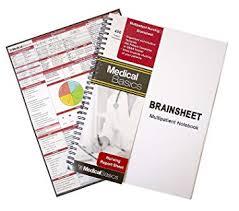 template office amazon com nursing brain sheet multiple patient notebook nurse