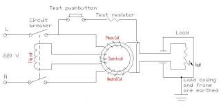 electrical installation wiring pictures 1 phase elcb connection diagram 3 typical elcb circuit