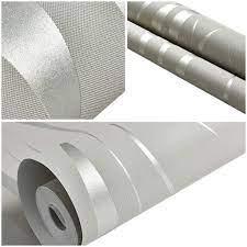 Wall Paper Wallpaper Ikevan Silver 3D ...