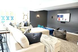 shiplap accent wall painted wall in home theater shiplap accent wall cost