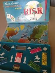 Risk Board Game Wooden Box Vintage Risk Board Game Complete Original Box 100 Version Wood 26