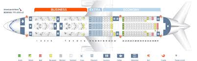 Boeing 777 200 Seating Chart American Airlines Plane 772 Seating Chart Best Picture Of