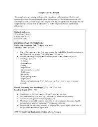 Attorney Resume Samples Template Resume Builder