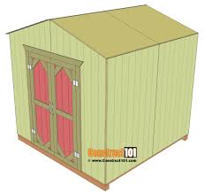 garden shed plans 8 x8 roof deck