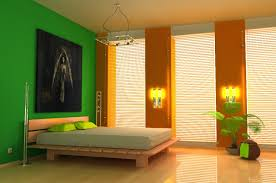 Orange Paint Colors For Bedrooms Paint Ideas For Bedroom With An Accent Wall Home Decorating Ideas