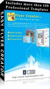 Flyer Creator Software Amazon Com Easy Flyer Creator 2 0 Design Flyers Business