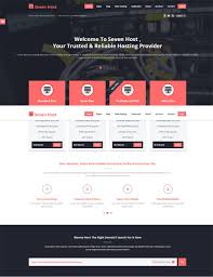 Best Website Templates 24 Best Web Hosting Website Templates Themes Hosted Exchange 3