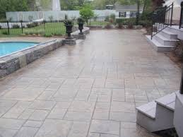 stamped concrete patio costs
