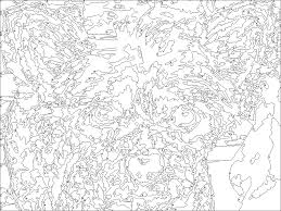 Small Picture Paint Number Online Printable For Adults 01 Coloring Pages