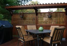 deck privacy walls