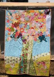Maple Hill quilt pattern by Sheryl Mycroft at Random Threadz ... & quilted tree- check out the amazing outdoor quilt show! Adamdwight.com