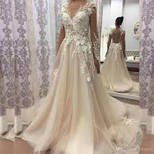 discount 2018 vintage wedding dress boat neck long sleeve button