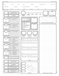 dnd 3 5 character sheet character sheet i designed this for new players and added some