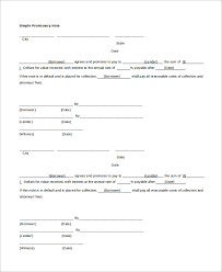 Promissory Note Word Template 22 Promissory Note Samples Google Docs Ms Word Apple Pages