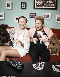 gogglebox housemates angie and yvie took to instagram to support comments made