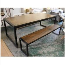 ikea retro furniture. Ikea Retro Pedesaan Mebel Kayu, Besi Tempa Meja Kursi Makan Bangku Dan Furniture O