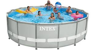 Intex 15 X 48 Ultra Frame Above Ground Pool w Filter Pump Only